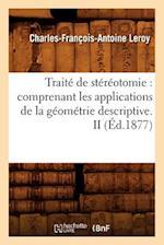 Traite de Stereotomie af Leroy C. F. a., Charles-Francois-Antoine Leroy