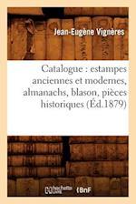 Catalogue af Jean-Eugene Vigneres