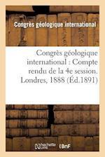 Congres Geologique International af Congres Geologique