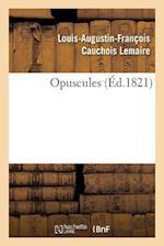 Opuscules af Cauchois Lemaire-L-A-F