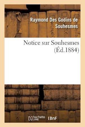 Bog, paperback Notice Sur Souhesmes af Des Godins De Souhesmes-R