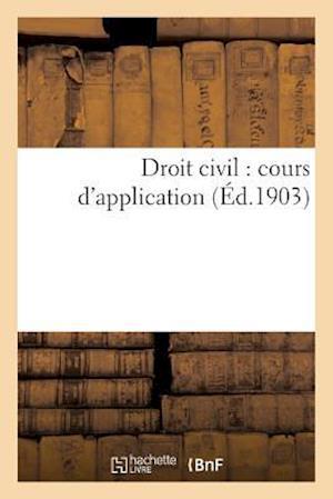 Bog, paperback Droit Civil af Collectif