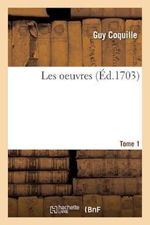 Bog, paperback Les Oeuvres Tome 1