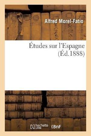 Bog, paperback Etudes Sur L'Espagne