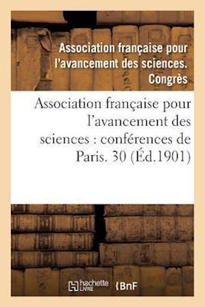 Bog, paperback Association Francaise Pour L'Avancement Des Sciences af Association Francaise
