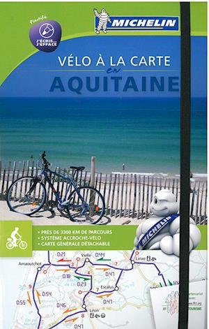 Bog, spiralryg Aquitaine Bike Map and Atlas