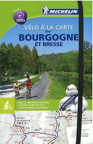 Bog, spiralryg Bourgogne Bike Map & Atlas