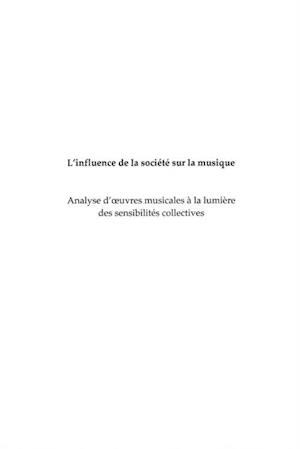 Influence de la societe de musique L' af Michel Faure