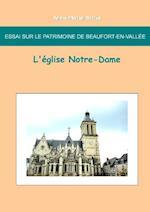 Essai Sur Le Patrimoine de Beaufort En Vallee af Jean-Marie Schio