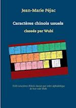 Caracteres Chinois Usuels Classes Par Wubi