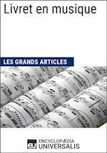 Livret en musique (Les Grands Articles)