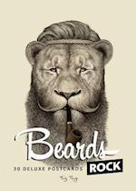 Beards Rock Postcards