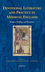 Devotional Literature and Practice in Medieval England (Disputatio)