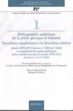 Bibliographie Analytique De La Priere Grecque Et Romaine (Recherches Sur Les Rhetoriques Religieuses)