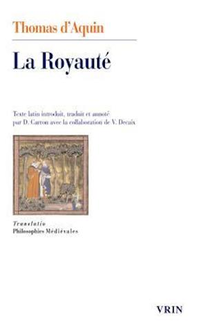 Bog, paperback La Royaute, Au Roi de Chypre
