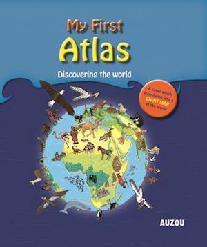 Bog, hardback My First Atlas af Auzou Publishing