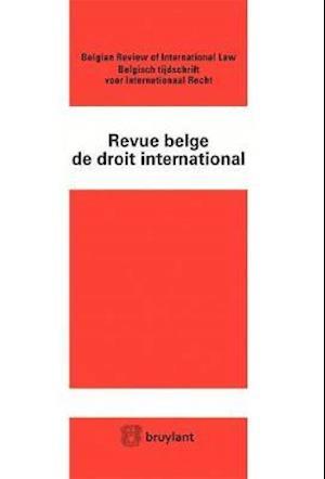 Bog, paperback Revue Belge De Droit International 2016/1