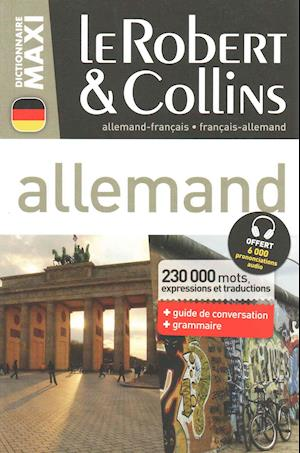 Le Robert & Collins Dictionnaire Allemand Maxi af Robert Collins