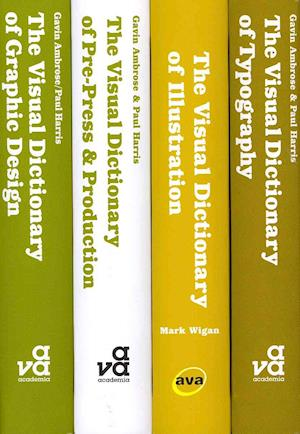 The Visual Dictionary Design Box Set af Gavin Ambrose, Paul Harris, Mark Wigan