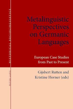 Bog, paperback Metalinguistic Perspectives on Germanic Languages