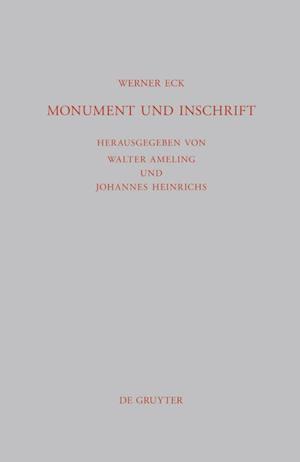 Monument Und Inschrift af Werner Eck