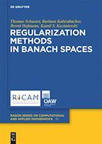 Regularization Methods in Banach Spaces af Thomas Schuster, Bernd Hofmann, Barbara Kaltenbacher