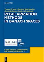 Regularization Methods in Banach Spaces af Bernd Hofmann