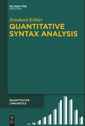 Quantitative Syntax Analysis af Reinhard Kohler