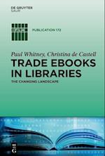 Trade eBooks in Libraries (IFLA Publications, nr. 172)