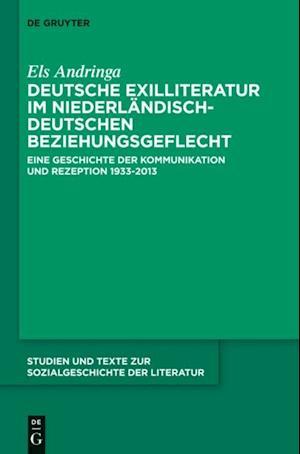 Deutsche Exilliteratur im niederlandisch-deutschen Beziehungsgeflecht af Els Andringa