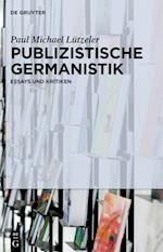 Publizistische Germanistik af Paul Michael Lutzeler