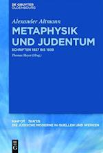 Metaphysik Und Judentum (Marot, nr. 4)