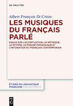 Les Musiques Du Francais Parle (Etudes de Linguistique Francaise, nr. 1)