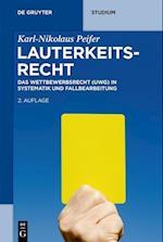 Lauterkeitsrecht (De Gruyter Studium)