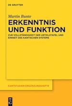 Erkenntnis Und Funktion (Kantstudien-Erganzungshefte, nr. 189)