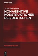 Nonagentive Konstruktionen Des Deutschen (Sprache Und Wissen, nr. 25)