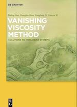 Vanishing Viscosity Method