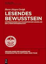 Lesendes Bewusstsein (Abhandlungen der Akademie der Wissenschaften Zu Gottingen N, nr. 42)