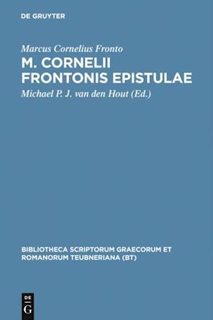 M. Cornelii Frontonis epistulae af Marcus Cornelius Fronto