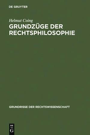 Grundzuge der Rechtsphilosophie af Helmut Coing