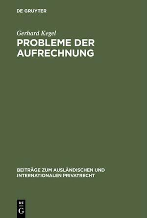 Probleme der Aufrechnung af Gerhard Kegel