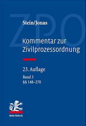 Bog, hardback Kommentar Zur Zivilprozessordnung af Martin Jonas, Friedrich Stein