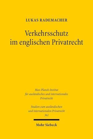 Bog, paperback Verkehrsschutz Im Englischen Privatrecht af Lukas Rademacher