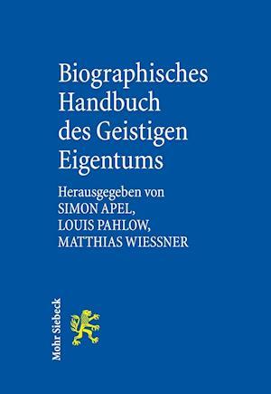 Bog, hardback Biographisches Handbuch Des Geistigen Eigentums