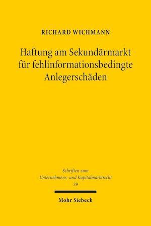 Bog, paperback Verhaltenssteuerung Durch Kausalitatsanforderungen af Richard Wichmann