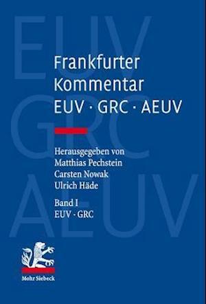 Bog, hardback Frankfurter Kommentar Zu Euv, Grc Und Aeuv