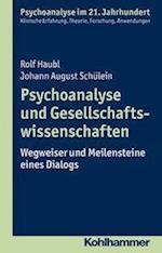 Psychoanalyse Und Gesellschaftswissenschaften (Psychoanalyse Im 21 Jahrhundert)