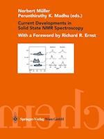 Current Developments in Solid State NMR Spectroscopy af Norbert Muller