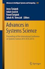 Advances in Systems Science af Jerzy Swiatek
