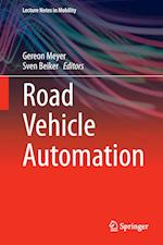 Road Vehicle Automation af Gereon Meyer